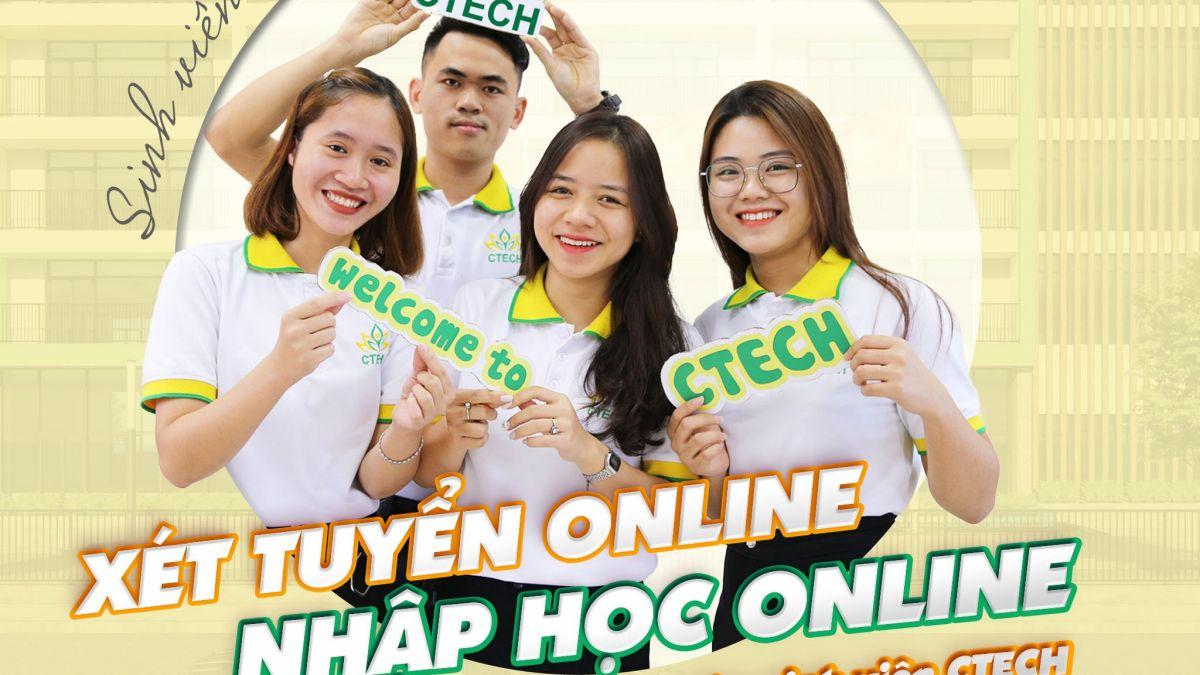 Xét tuyển online - Nhập học online - Cao đẳng Kỹ Thuật - Công nghệ Bách Khoa (CTECH)