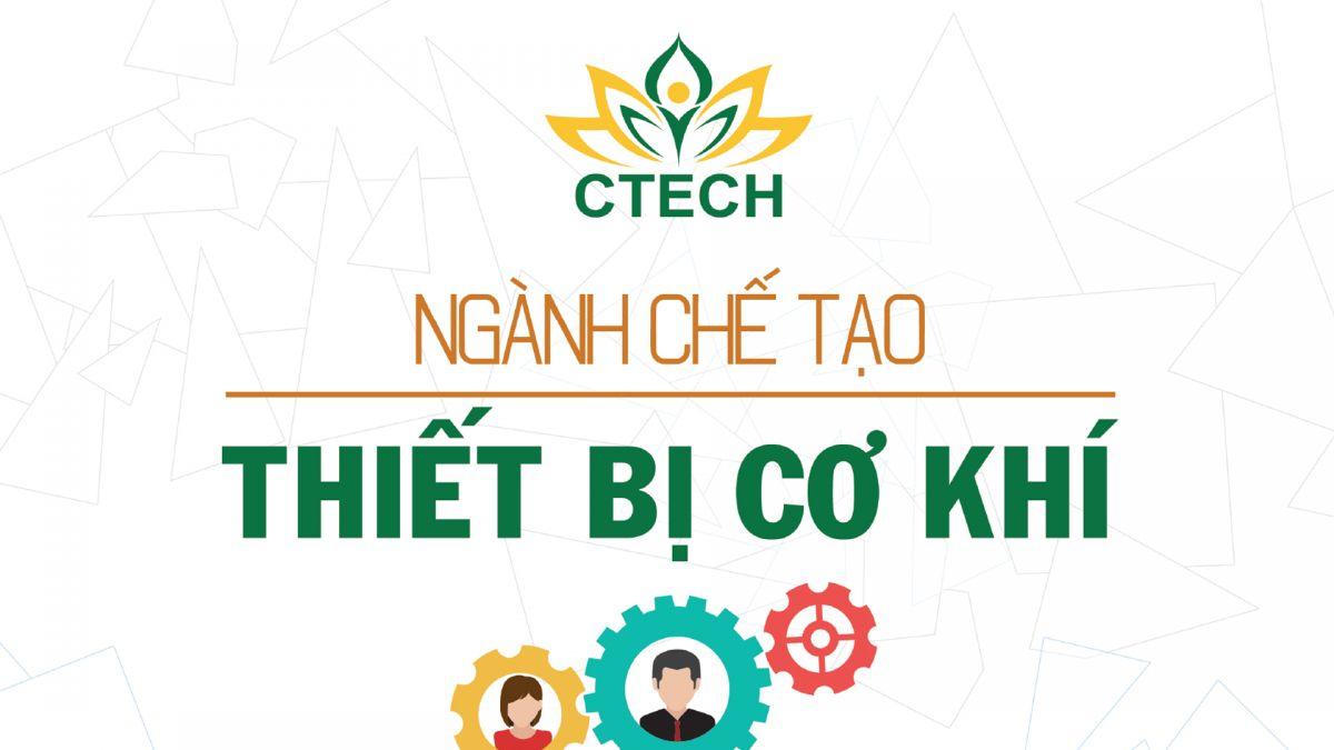 Những điều cần biết về Ngành Chế tạo thiết bị cơ khí - Cao đẳng Kỹ Thuật - Công nghệ Bách Khoa (CTECH)